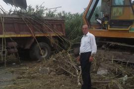 Επιχείρηση καθαρισμού ρεμάτων του Δήμου Πύδνας Κολινδρού σε συνεργασία με την Π.