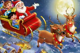 """Πρόγραμμα Χριστουγεννιάτικων εκδηλώσεων στο Αιγίνιο """"Η αυλή του Αη Βασίλη"""""""